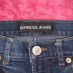 EXPRESS high waisted jean/leggings